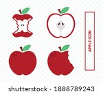 vector image. waste icon. image ... | Shutterstock .eps vector #1888789243