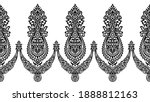 seamless vector ornamental... | Shutterstock .eps vector #1888812163