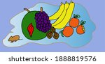 Illustration Of Fruit That A...