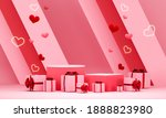 valentine's day abstract... | Shutterstock . vector #1888823980