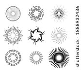 set abstract collection...   Shutterstock .eps vector #1888932436