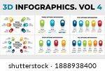 3d vector perspective... | Shutterstock .eps vector #1888938400