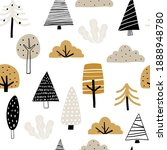 vector hand drawn color... | Shutterstock .eps vector #1888948780