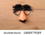 Overhead Glasses With Mustache  ...