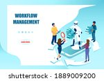 workflow optimization and... | Shutterstock .eps vector #1889009200