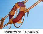 Lifebuoy  And Rope Ladder ...