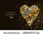 creative abstract arabic... | Shutterstock .eps vector #1889095126
