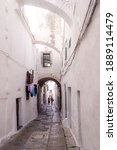 Ostuni Street Inthe Istorical...