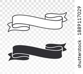 vintage ribbons. set of hand...