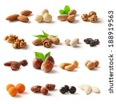 nuts family with clipping path | Shutterstock . vector #188919563