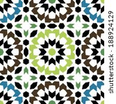 ornamental round morocco... | Shutterstock .eps vector #188924129