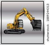 Excavator Logo Designs Concept...