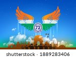 republic day of india... | Shutterstock .eps vector #1889283406