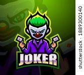Joker Mascot Esport Logo Design
