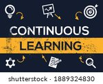 creative  continuous learning ... | Shutterstock .eps vector #1889324830