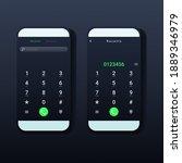 phone call screen design...