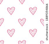 simple seamless pattern with... | Shutterstock .eps vector #1889354866