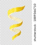 lemon peel in the form of a... | Shutterstock .eps vector #1889366710