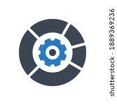 data menagement related glyph...   Shutterstock . vector #1889369236