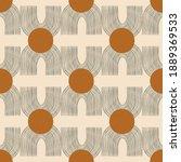 vector contemporary seamless... | Shutterstock .eps vector #1889369533