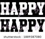 woman inspirational always be... | Shutterstock .eps vector #1889387080