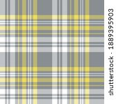 plaid pattern vector in grey ... | Shutterstock .eps vector #1889395903