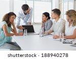 casual business team having a... | Shutterstock . vector #188940278