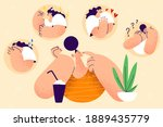 stress  mental disorder and...   Shutterstock .eps vector #1889435779