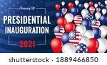 presidential inauguration usa... | Shutterstock .eps vector #1889466850