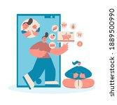 financial literacy for kids....   Shutterstock .eps vector #1889500990