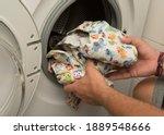 Diaper In The Washing Machine ...