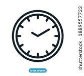 time line icon template color...