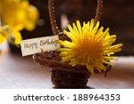 happy birthday card    Shutterstock . vector #188964353