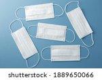 respiratory masks on the... | Shutterstock . vector #1889650066