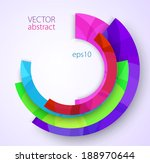 vector abstract background with ... | Shutterstock .eps vector #188970644