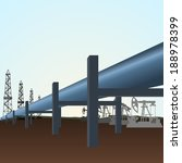 gas mains. pipeline to pump...   Shutterstock .eps vector #188978399