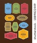 antique frame decorative frame... | Shutterstock .eps vector #1889822449