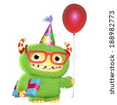 3d cartoon monster | Shutterstock . vector #188982773