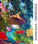 Sombrero Decoration At Fiesta...
