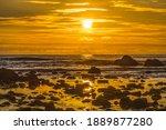 Colorful Yellow Haystack Rock...