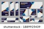 abstract banner design web... | Shutterstock .eps vector #1889925439