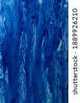 abstract hand painted blue...   Shutterstock . vector #1889926210