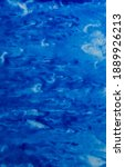 abstract hand painted blue...   Shutterstock . vector #1889926213