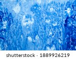abstract hand painted blue...   Shutterstock . vector #1889926219