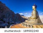 Buddha Statue At Hemis...