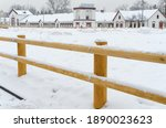 New Wooden Fence Corral For...