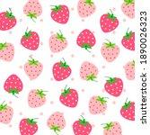 fruit pattern.cute fresh... | Shutterstock .eps vector #1890026323