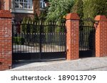 Black Wrought Gate
