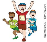 an image of a marathon men... | Shutterstock .eps vector #189026204