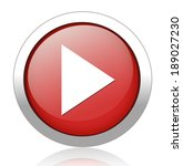 media player button | Shutterstock . vector #189027230